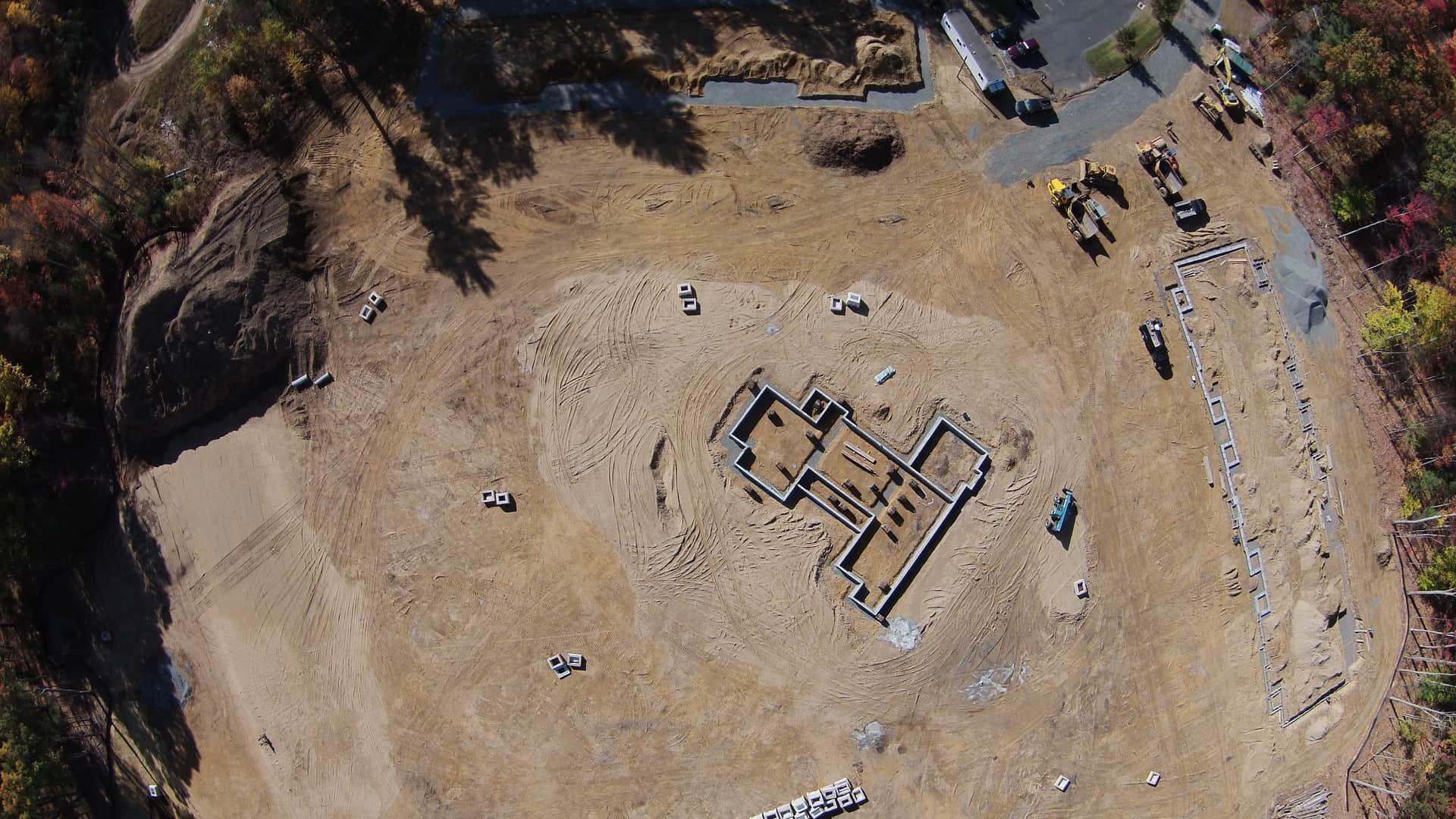 construction site land
