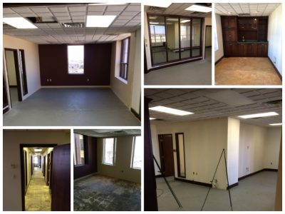 empty office spaces