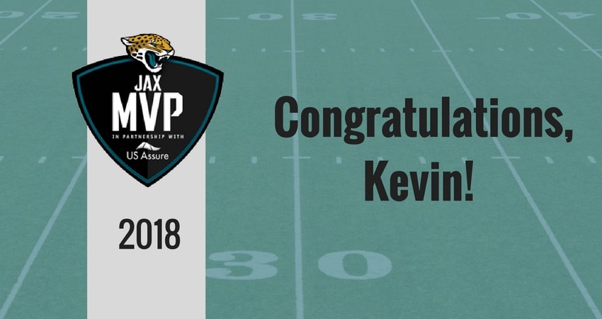 Kevin Powell Selected As A JAX MVP With The Jaguars Foundation