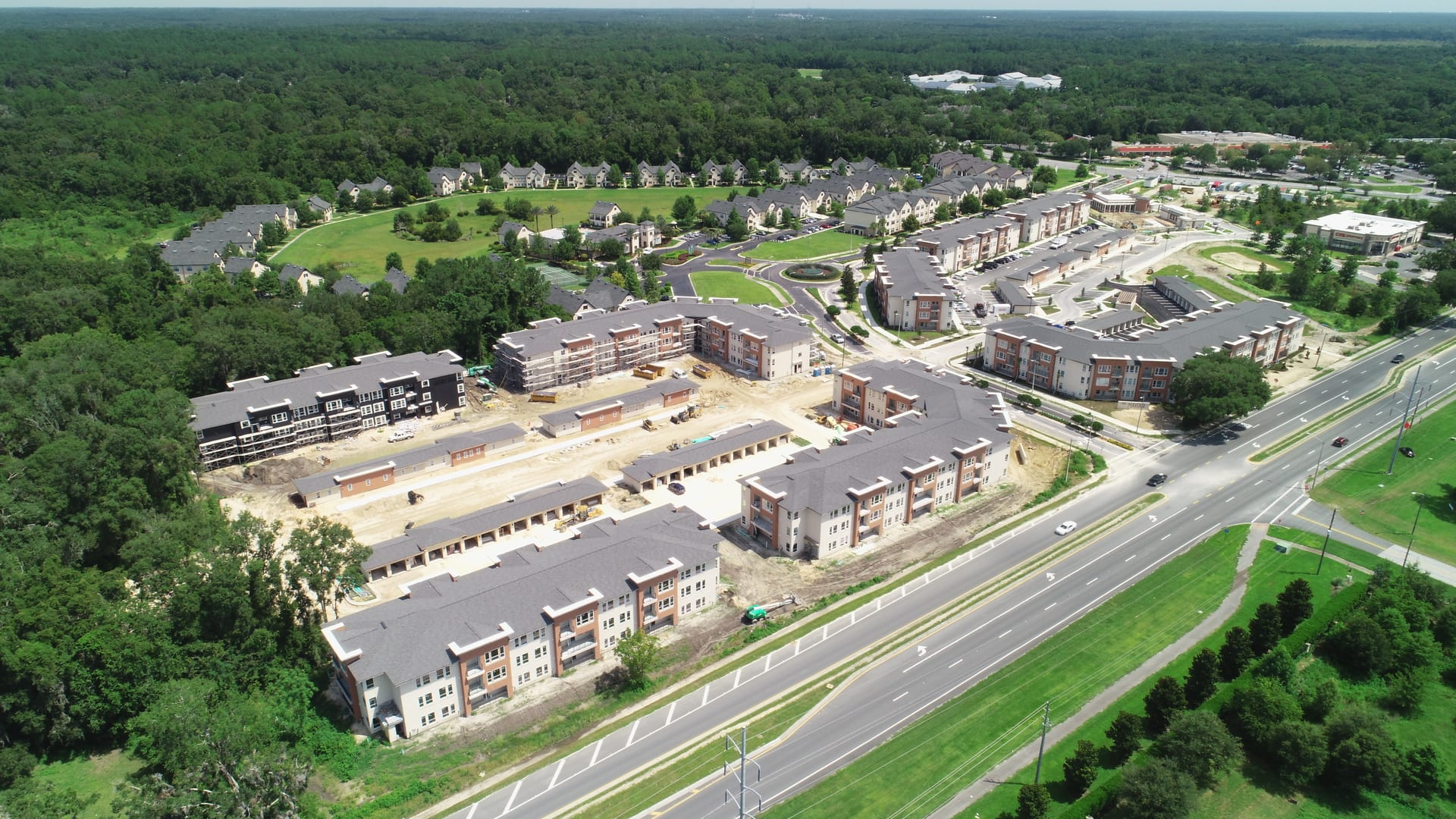 Mayfair Aerial | Live Oak Contracting