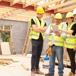 construction workers discussion