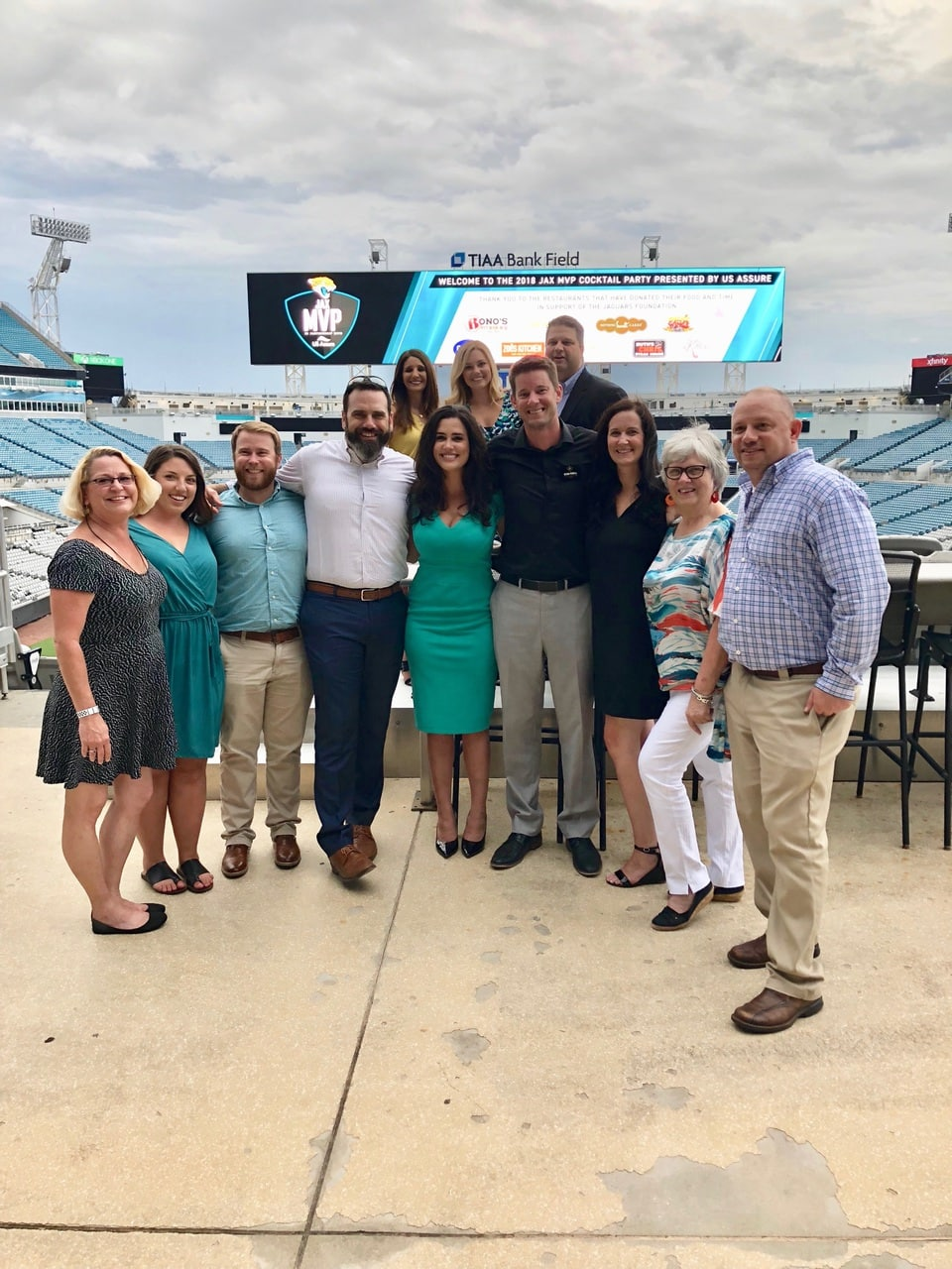 team outing to jacksonville jaguars football game