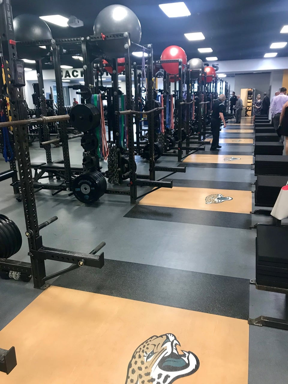 jacksonville jaguars gym