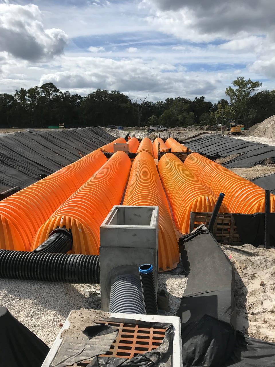 orange tubes