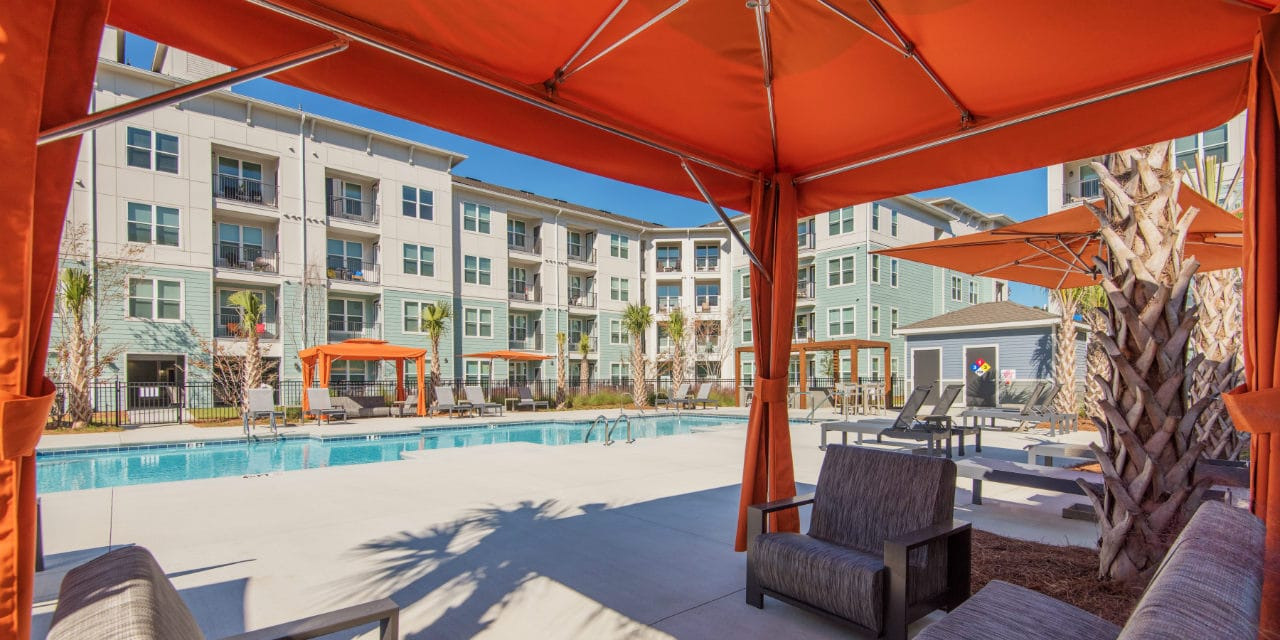 pool apartment cabana