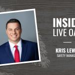 Inside Live Oak, Kris Lewin, Safety Manager