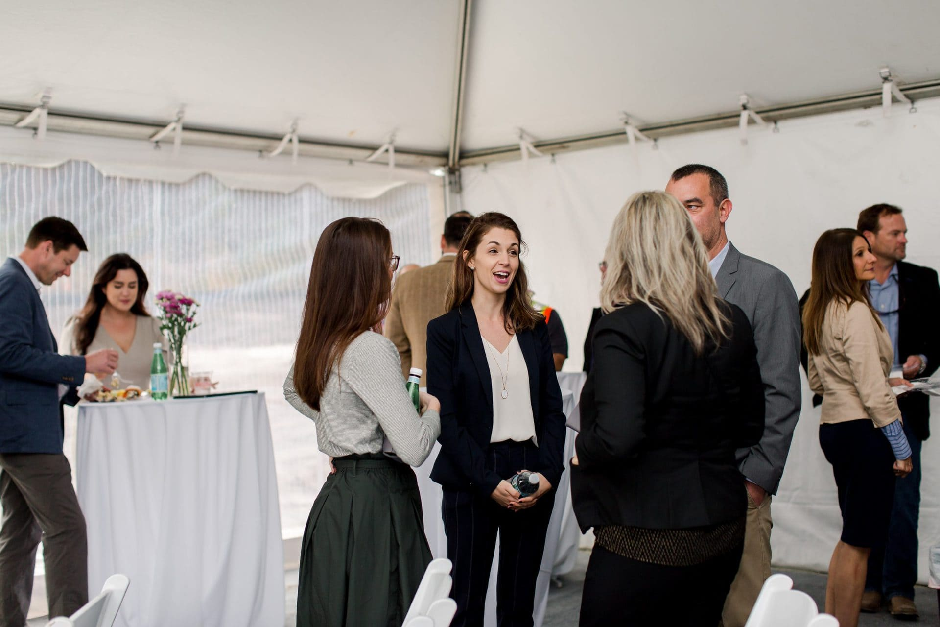 women conversation event