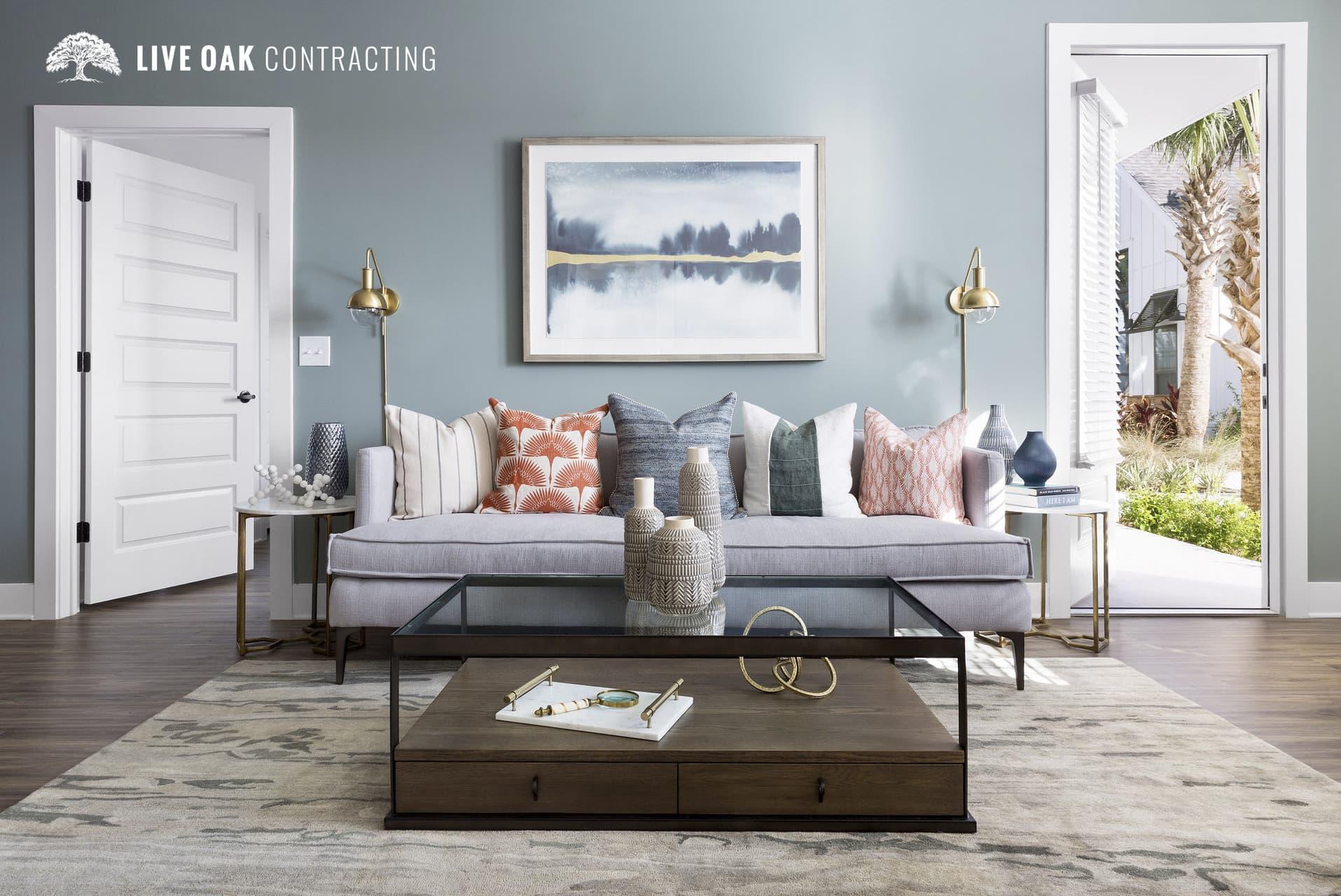 living room sofa coffee-table