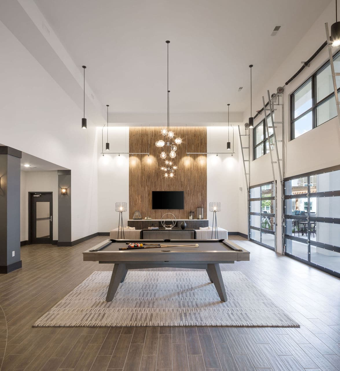 community living space game room