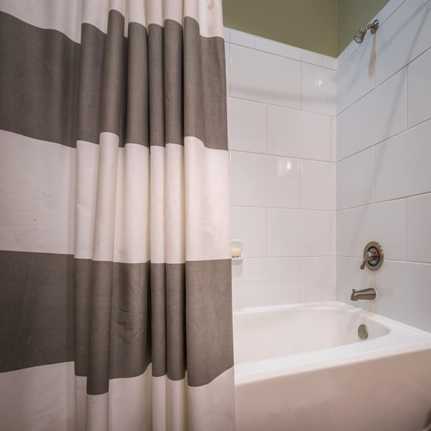 tub shower curtain