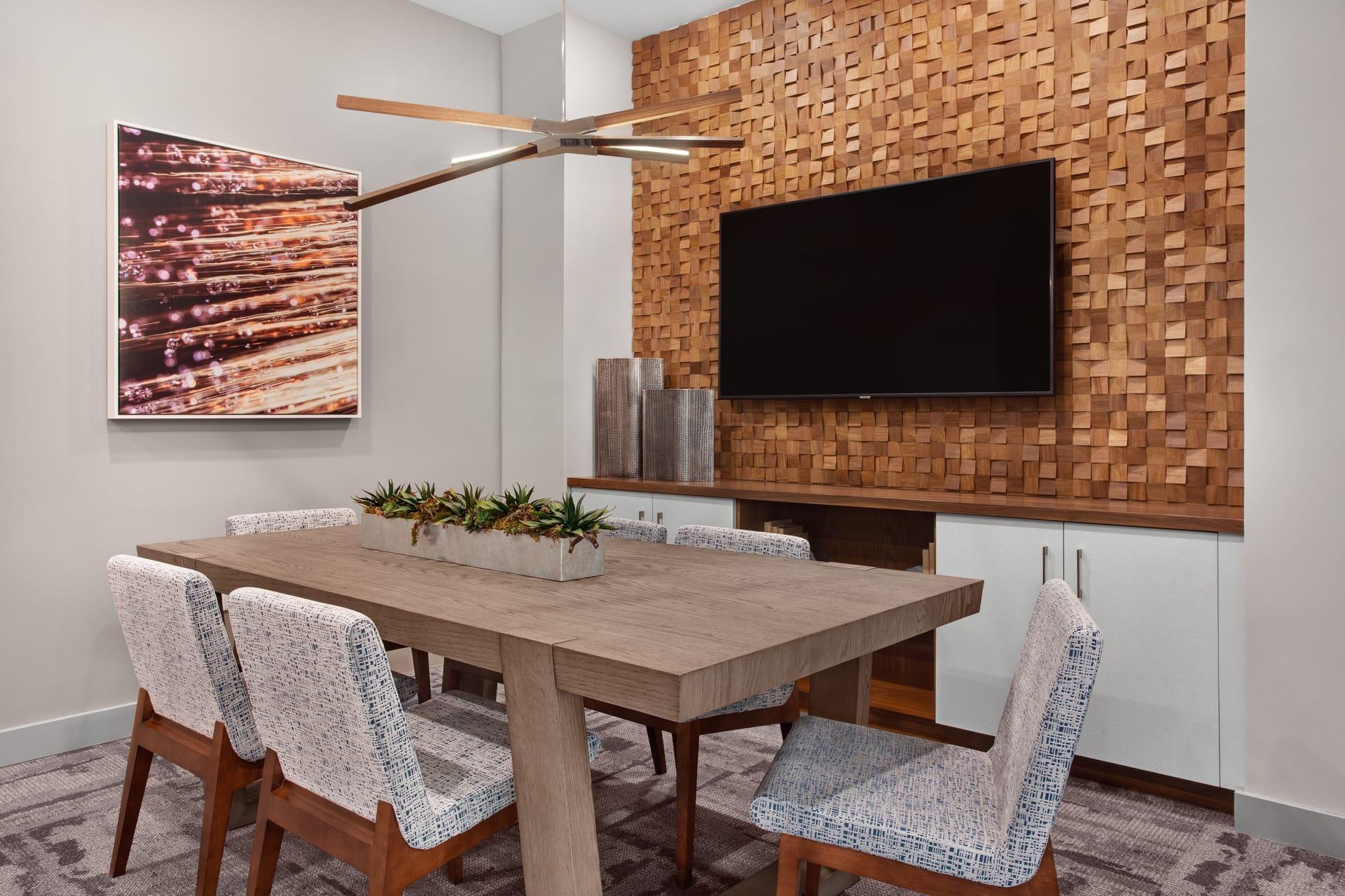 dining area tv